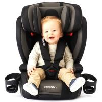 瑞凯威(RECARO)布加迪 宝宝儿童汽车安全座椅9个月-12岁 银黑色