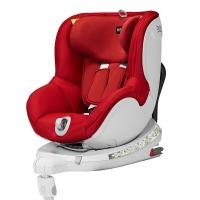 宝得适/百代适britax 宝宝汽车儿童安全座椅isofix接口 双面骑士 适合约0-4岁(热情红)