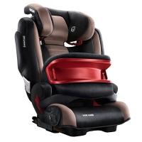 瑞凯威RECARO安全座椅 德国原装进口汽车座椅ISOFIX硬连接 超级莫扎特9个月-12岁 咖啡色