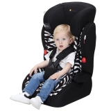 Zazababy儿童汽车安全座椅宝宝座椅9月-12岁 2180斑马纹