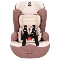 塞诺堡汽车儿童安全座椅 9个月-12岁宝宝儿童安全座椅汽车用 星盾-格洛丽亚米 (安全带固定)
