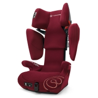 谐和(CONCORD)安全座椅3-12岁儿童汽车ISOFIX接口 XBAG康科德火焰红