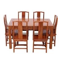 粤顺 红木餐 桌实木餐台 花梨木方餐桌H302