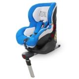 kiwy原装进口宝宝汽车儿童安全座椅isofix接口9个月-4岁 液压自动收紧系统 查理王 皇室蓝