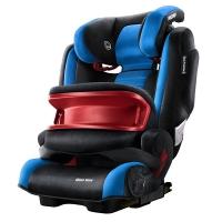 瑞凯威(RECARO)超级莫扎特汽车儿童安全座椅9个月至12岁ISOFIX接口前置护体 蓝黑色 德国进口