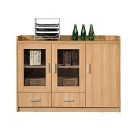 华旦 ZM-C16中式餐边柜现代简约大容量餐厅茶水柜厨房碗柜