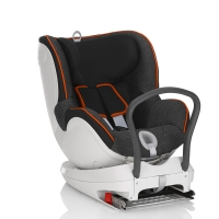 宝得适/百代适britax 宝宝汽车儿童安全座椅isofix接口 双面骑士 适合约0-4岁(曜石黑)