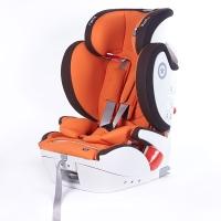 奇蒂Kiddy德国汽车儿童安全座椅全能者FIX 9个月到12岁ISOFIX+安全带通用 橙色