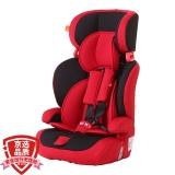 gb好孩子高速汽车儿童安全座椅 欧标五点式安全带 CS618-N003 红黑色(9个月-12岁)