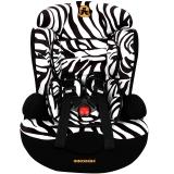塞诺堡汽车儿童安全座椅 9个月-12岁宝宝儿童安全座椅汽车用 星盾-马蹄纹 (安全带固定)