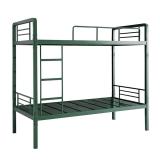 奈高铁床双层铁架床上下铺员工宿舍床成人铁艺床免床板军队床