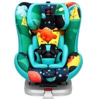 感恩 ganen 依雷拖安全座椅汽车用儿童安全座椅0-4岁isofix接口 枫林蓝