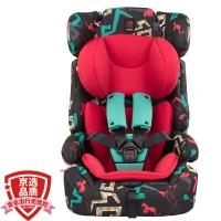 感恩ganen 宝宝汽车儿童安全座椅 旅行者 石榴红 9个月-12岁