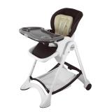 帛琦(Pouch)多功能儿童餐椅 婴儿餐椅 可坐可躺 K05-1咖啡色