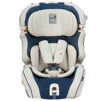 kiwy原装进口宝宝汽车儿童安全座椅isofix硬接口 9个月-12岁 无敌浩克荣耀版 道奇蓝