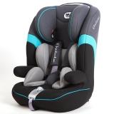 德国怡戈(Ekobebe)汽车儿童安全座椅 宝宝婴儿座椅EKO-006 isofix硬接口 适合9个月-12岁 城堡灰