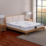 依丽兰实木床 时尚软包双人床 北美白蜡木框架床 北欧风格 2000*1800