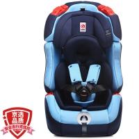 感恩ganen 宝宝汽车儿童安全座椅isofix硬接口 护航者 蓝色 9个月-12岁