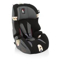 英吉利那(inglesina)美耐I-FIX儿童安全座椅 意大利原装进口9个月-12岁isofix接口 黑色isofix
