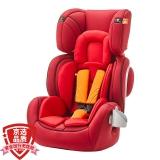 gb好孩子高速汽车儿童安全座椅 欧标Air protect技术 CS629-N017 红橙色(9个月-12岁)