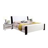 沃盛 FH-WS-1218现代简约黑白色实木床1张1800*2000