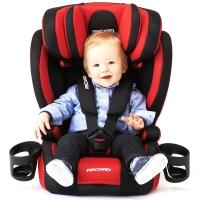 瑞凯威(RECARO)布加迪 宝宝儿童汽车安全座椅9个月-12岁 红黑色