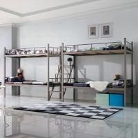 中伟公寓床上下床双层床高低床员工宿舍床学生床铁床四人位含床板