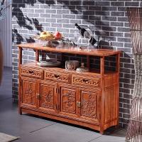 粤顺 红木餐边柜 中式储物柜厨房家具雕花收纳柜 G56