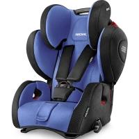 瑞凯威(RECARO)超级大黄蜂 德国原装进口儿童汽车座椅 适用9个月-12岁 蓝色