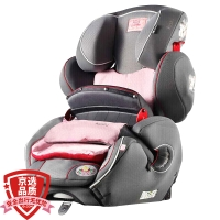 Kiddy/奇蒂 宝宝汽车儿童安全座椅 守护者2代 9个月-12岁莉莉公主