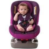 Zazababy儿童汽车安全座椅0-4岁用双向安装2096紫色