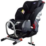 klippan TRIOFIX进口儿童安全座椅9个月-12岁汽车用宝宝安全座椅isofix硬接口 芬兰品牌 经典黑