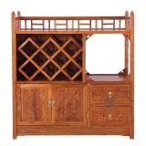 粤顺红木餐边柜 实木斗柜 花梨木储物柜 YS5102
