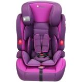 Zazababy儿童汽车安全座椅宝宝座椅9月-12岁 2180高贵紫