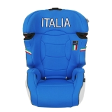 kiwy原装进口宝宝汽车儿童安全座椅isofix硬接口 适用约3-12岁 西西里 皇室蓝
