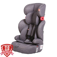 gb好孩子高速汽车儿童安全座椅 欧标五点式安全带 CS618-N004 灰色满天星(9个月-12岁)