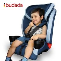 步达达(新品限量699)德国汽车儿童安全座椅 雅骑士D600 优雅蓝 9-36kg约9个月-12岁