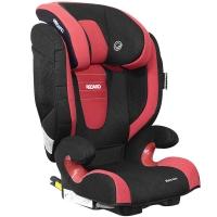 瑞凯威RECARO儿童汽车安全座椅ISOFIX硬接口德国原装进口莫扎特2代3-12岁红黑色