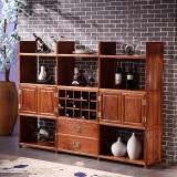 粤顺 红木餐边柜 中式实木橱柜餐厅家具储物柜 X14