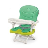 凯姆 (CAM)宝宝儿童餐椅便携可折叠用餐椅小吃可调档 (苹果绿)