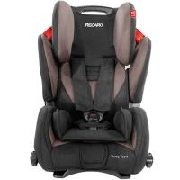 瑞凯威(RECARO)大黄蜂 适用9个月至12岁儿童汽车安全座椅3C认证赛车级防护 咖啡色 德国进口