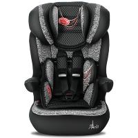 塞诺堡儿童安全座椅 9个月-3-12岁 汽车车用宝宝安全座椅 法国原装进口 浪漫巴黎黑(安全带固定)