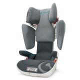 谐和(CONCORD) XT安全座椅 宝宝儿童汽车座椅一键液压调节 ISOFIX 3-12岁 3C认证 冰川灰 德国
