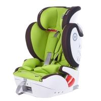 奇蒂Kiddy德国汽车儿童安全座椅全能者FIX 9个月到12岁ISOFIX+安全带通用 果绿色
