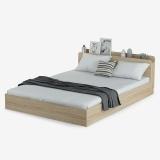 好事达易美 定制1.8米双人床 简约现代储物板式床 TC005