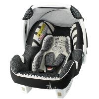 塞诺堡汽车安全提篮 法国进口提篮式儿童安全座椅 0-15个月婴儿新生儿宝宝车载摇篮 时尚巴黎米