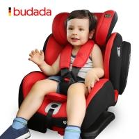 步达达(BUDADA)德国 宝宝汽车儿童安全座椅 皇家骑士 祥云红 ISOFIX硬接口 9-36kg约9个月-12岁