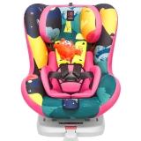 感恩 ganen 依雷拖安全座椅汽车用儿童安全座椅0-4岁isofix接口 溪流红