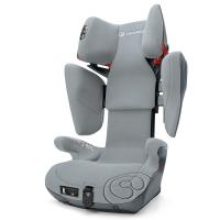 谐和(CONCORD)安全座椅3-12岁儿童汽车ISOFIX接口 XBAG康科德冰川灰
