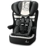 塞诺堡儿童安全座椅 9个月-3-12岁 汽车车用宝宝安全座椅 法国原装进口 时尚巴黎米(安全带固定)